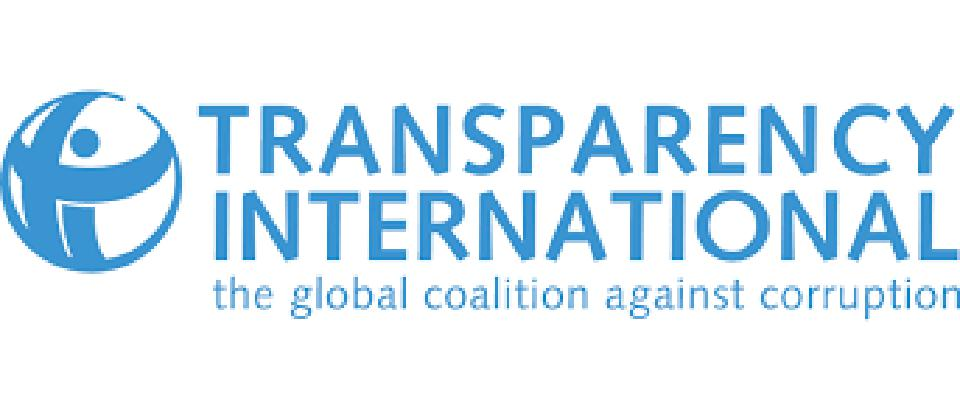 Transparency International produces the Corruption Perceptions Index each year