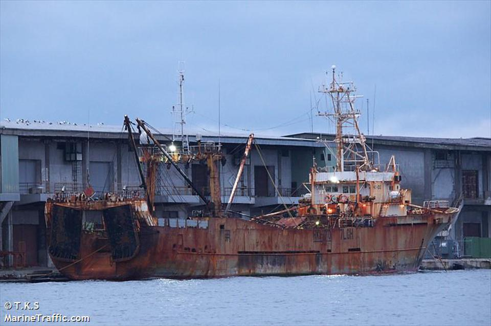 The Tomi Maru 58 factory trawler has been particularly secretive in its fishing operations around Mauritius