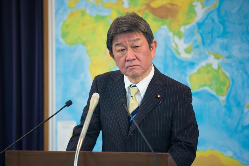 Japanese Minister for Foreign Affairs Motegi Toshimitsu is visiting Mauritius on Saturday 12 December 2020.
