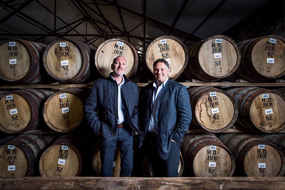 Rare Whisky 101 founders Andy Simpson and David Robertson.