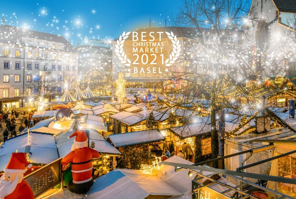 Best European Destinations: Christms market in Basel: