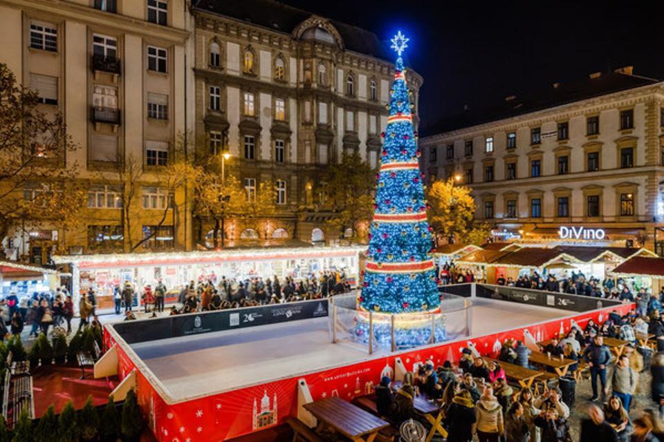 Christmas Market in Budapest Hungary