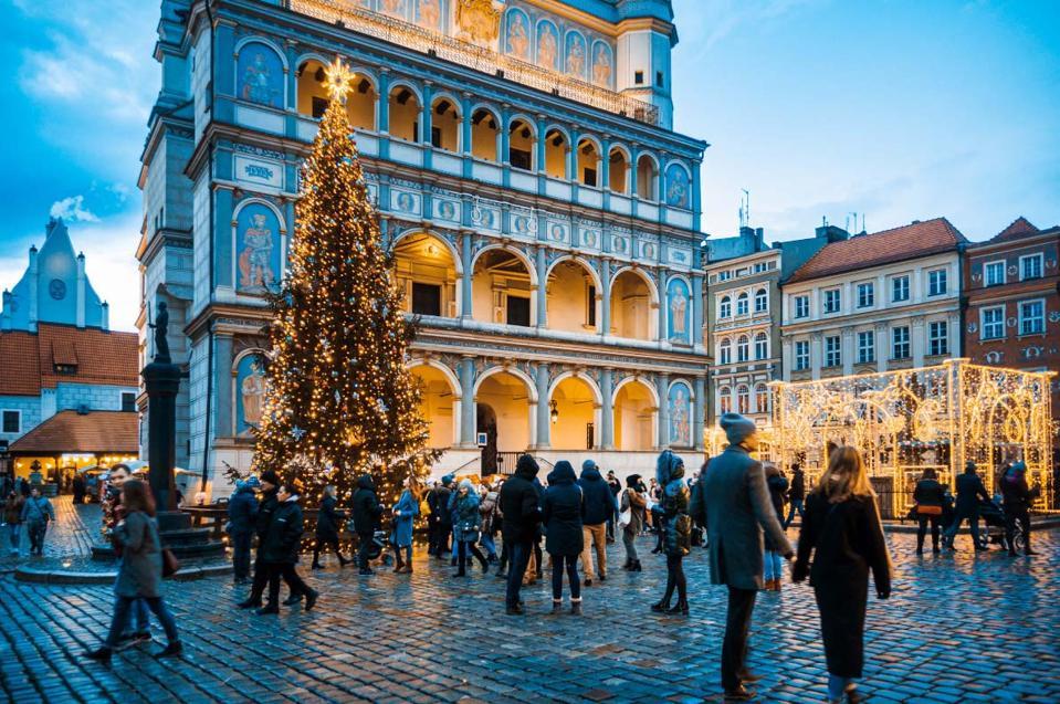 Christmas market in Poland