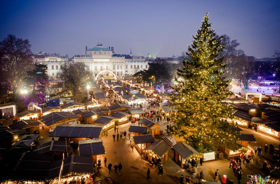 Christmas in Vienna.
