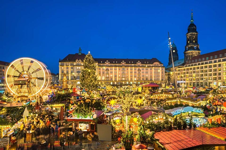 Christmas in Dresden, Germany