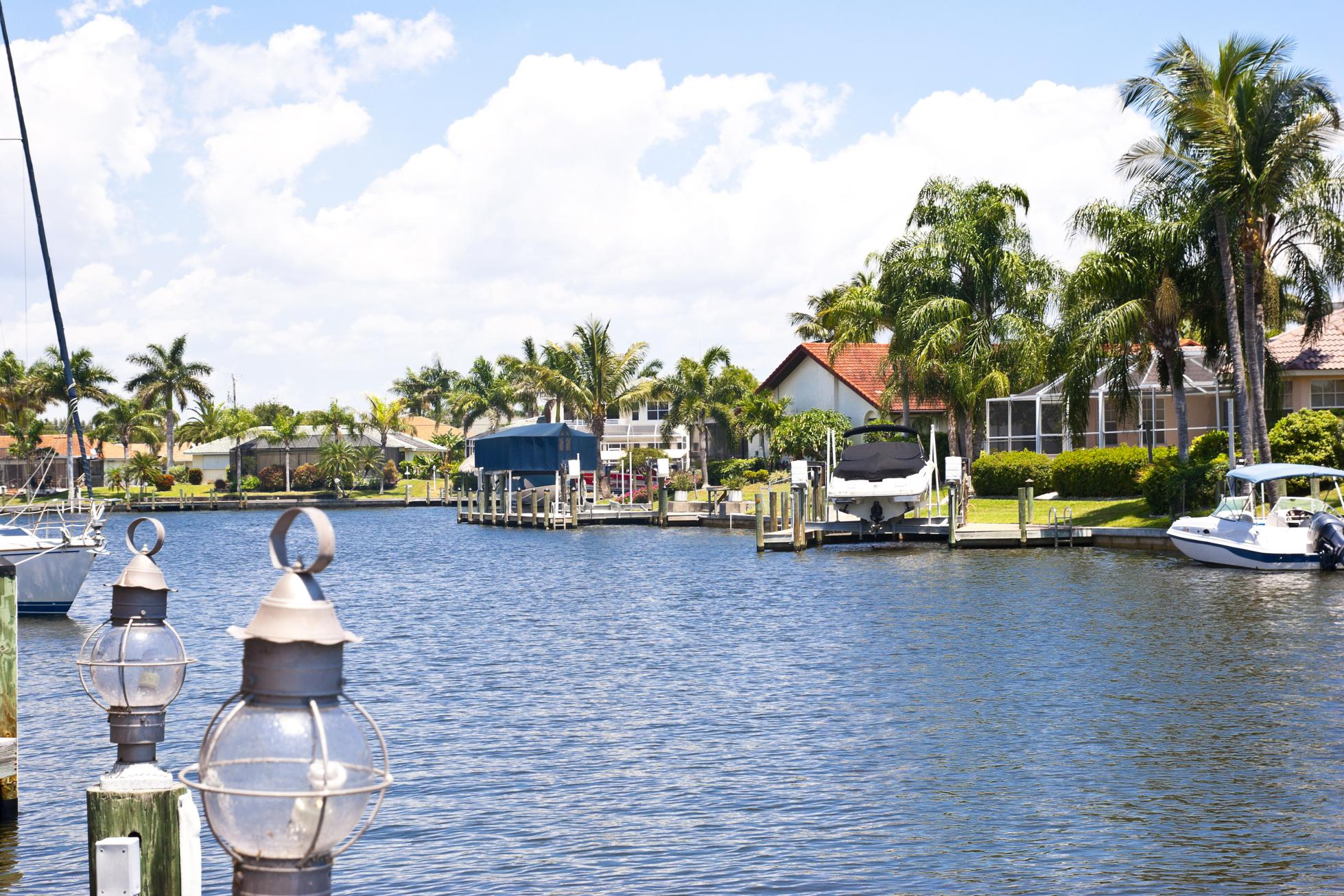 Waterfront Properties with Gulf Access