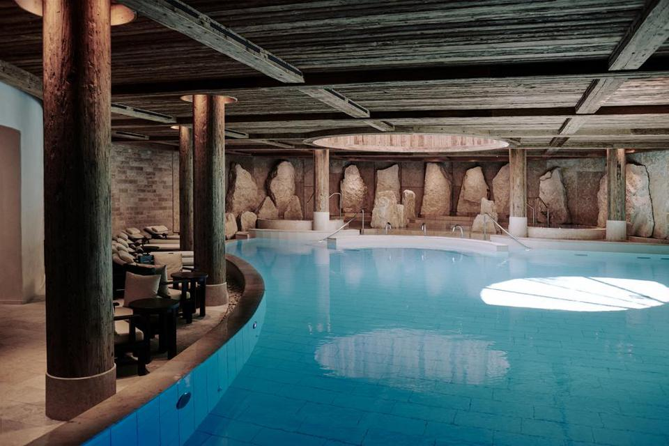 Renewable energy is used throughout the resort.  Also at the luxurious Six Senses Spa.  An oasis for well-being.