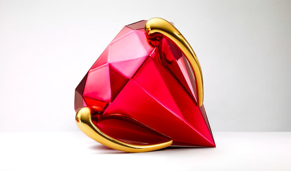 The rear point of the diamond represents the start of human history.