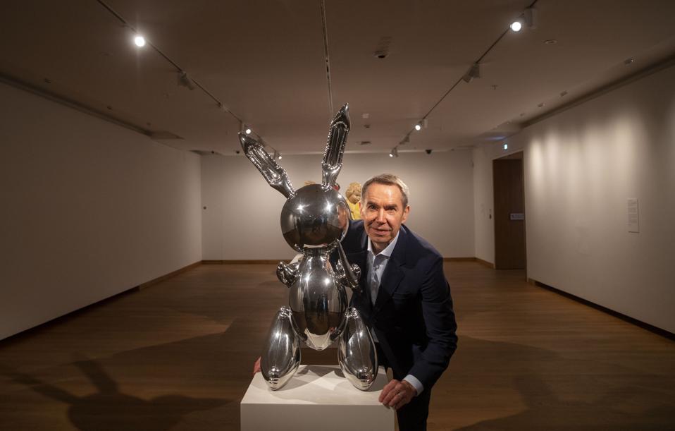 Jeff Koons at the Ashmolean exhibition