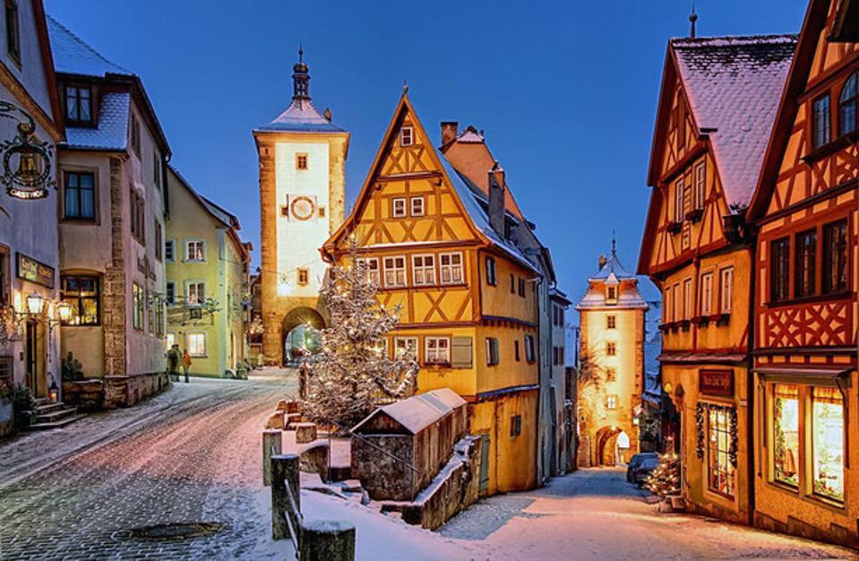 Christmas in Rothenburg ob der Tauber Germany