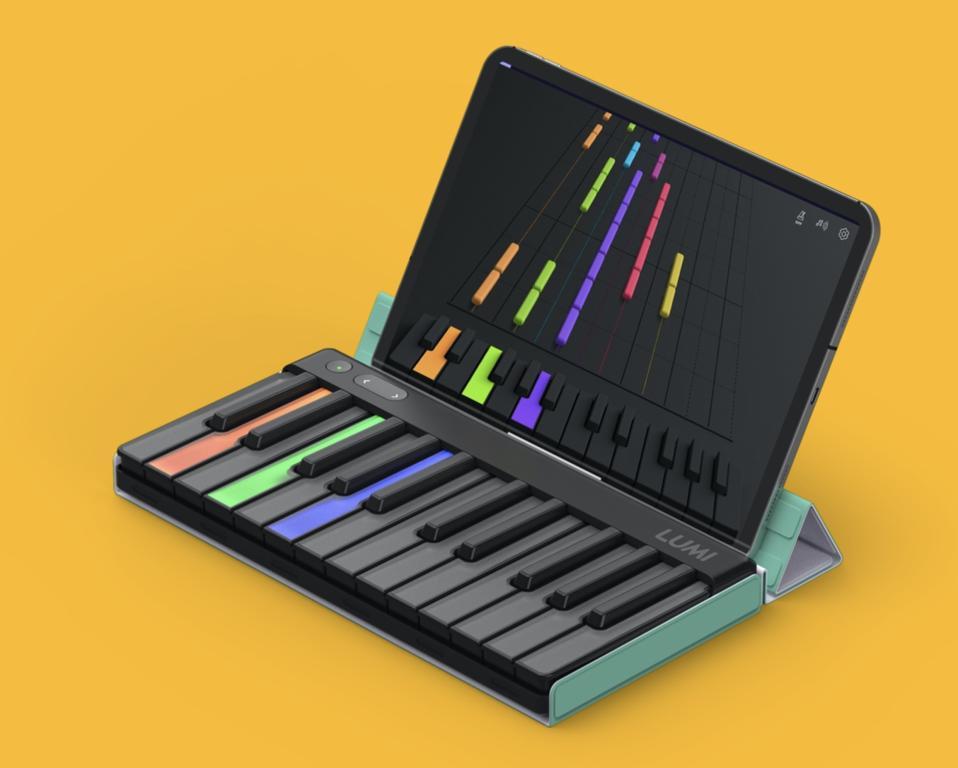 keyboard and screen