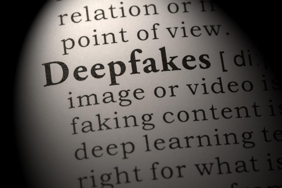 definition of deepfakes