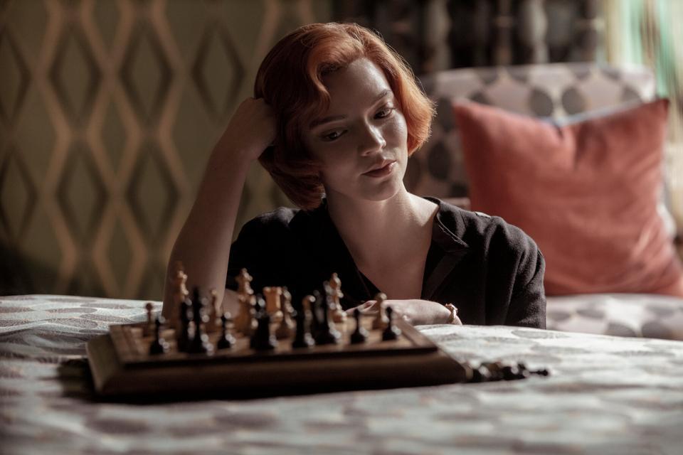 The Queen's Gambit Anya Taylor-Joy Netflix chess