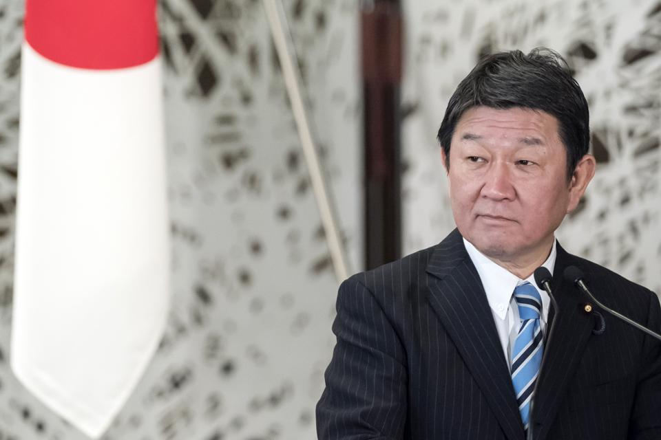 Japan's Foreign Minister Toshimitsu Motegi is on a two day visit to Mauritius on December 12 and 13 to visit the site of the Wakashio wreck