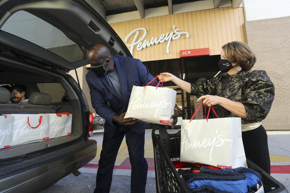 Giving Tuesday at JCPenney with Shaquille O'Neal