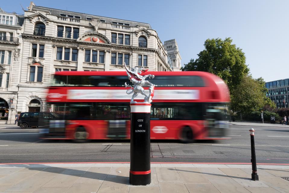 City of London Dragon Boundary Mark