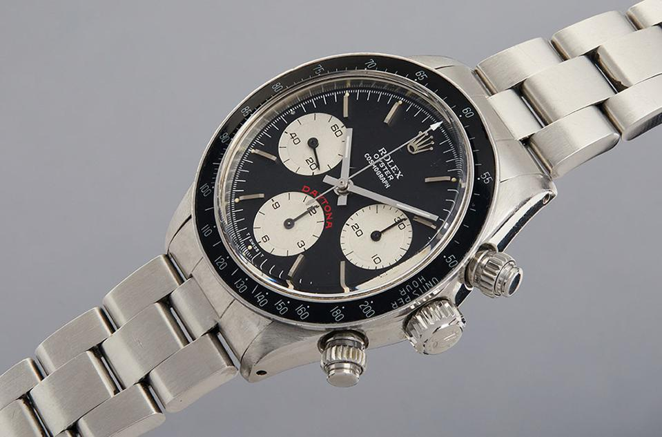 A Rolex Daytona owned by Paul Newman sold for $5,475,000 today by Phillips in Association with Bacs & Russo.
