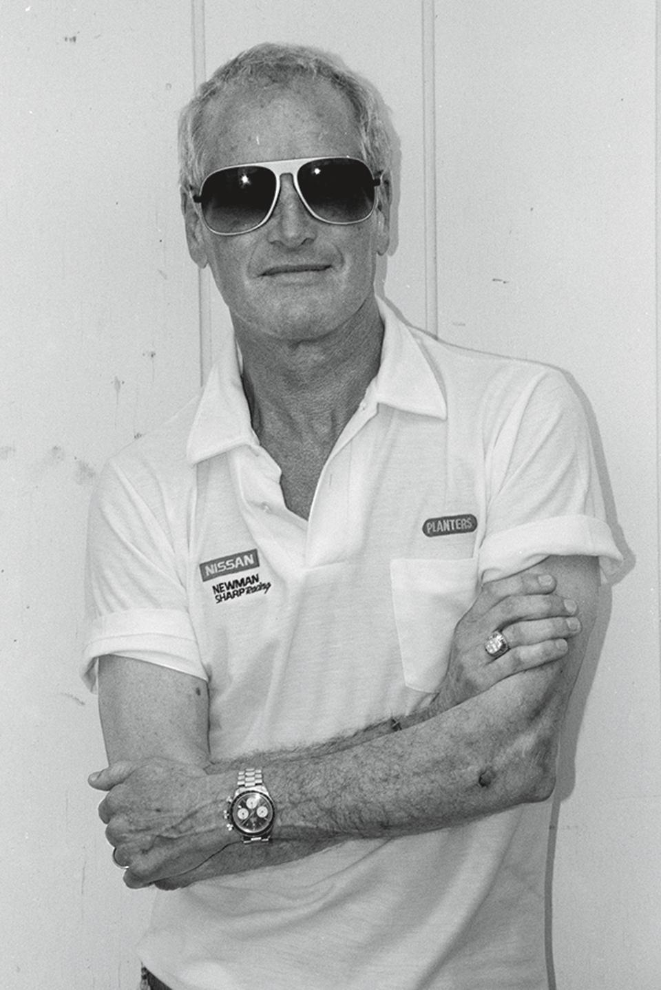 Paul Newman wore his Rolex Daytona ″Big Red″ regularly for decades.