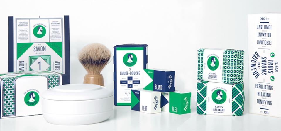 Made-in-Paris soap range