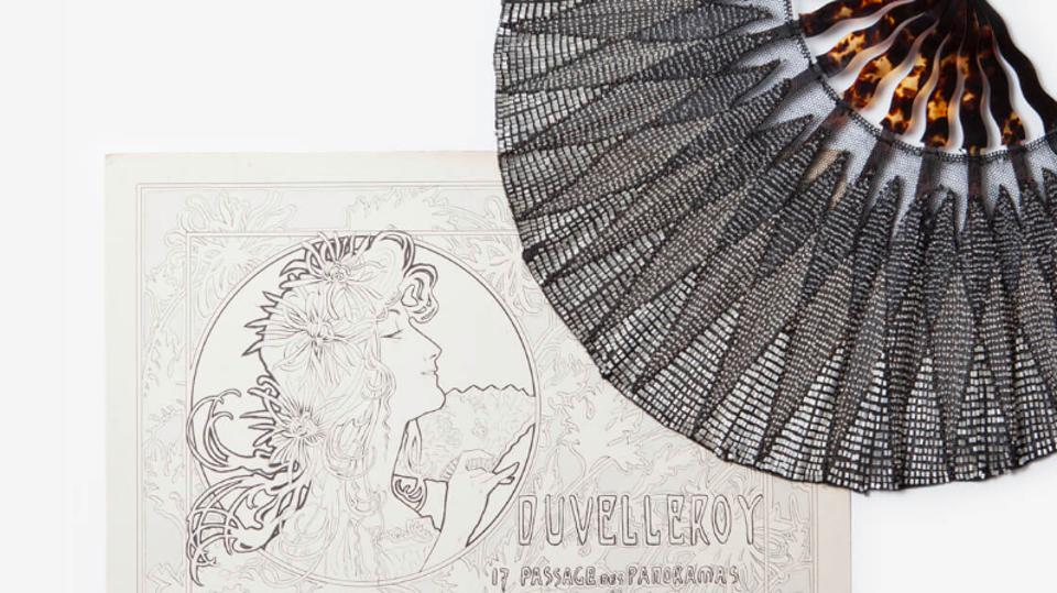 French hand fans from the historic brand