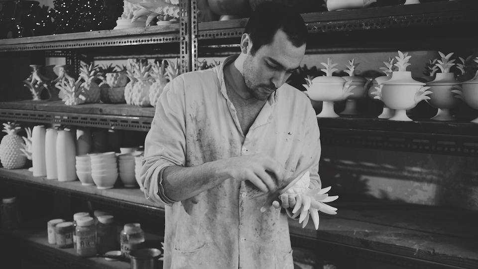 François Roger, the great-grandson of Jean Roger, took over the reins of the iconic 1947 ceramics atelier.
