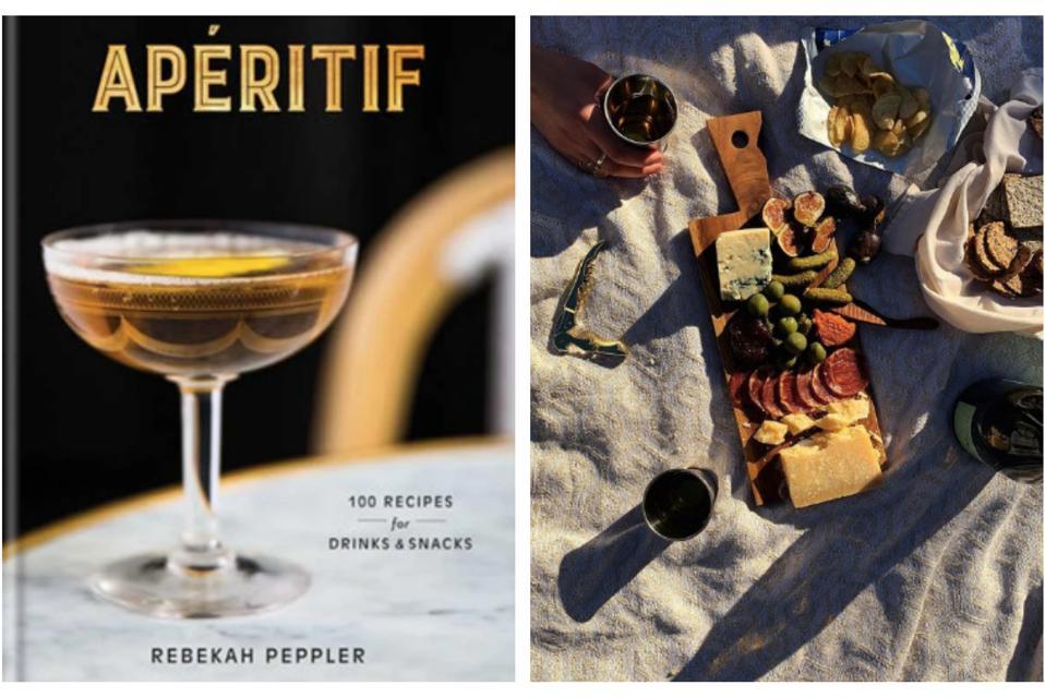 Wine and spirits author Rebekah Peppler's ″Apéritif″ book.