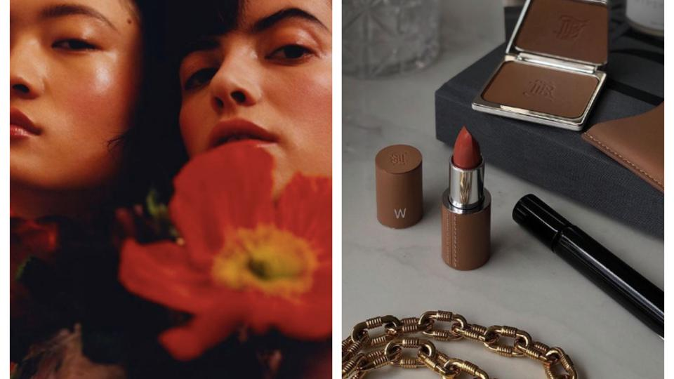 Beautiful plastic-free packaging and cruelty-free makeup by La Bouche Rouge Paris.