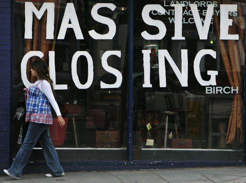 BRITAIN ECONOMY INSOLVENCIES