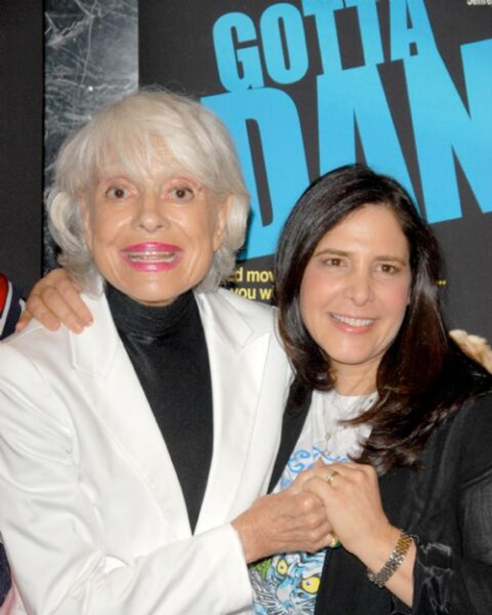 Dori Berinstein and legendary actress Carol Channing