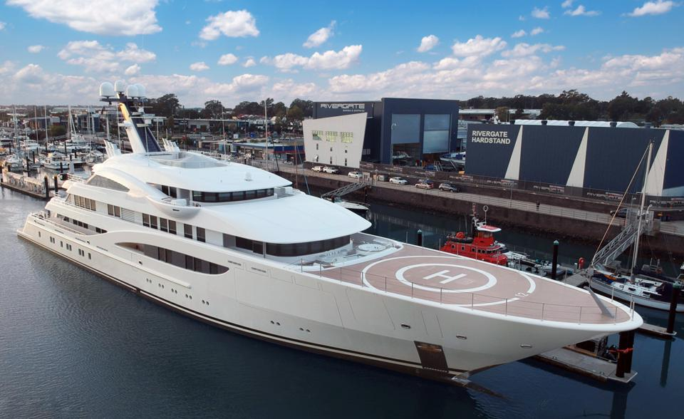 Rivergate Marine in Australia is set to handle an influx of superyachts that will be heading south for the 2021 America's Cup