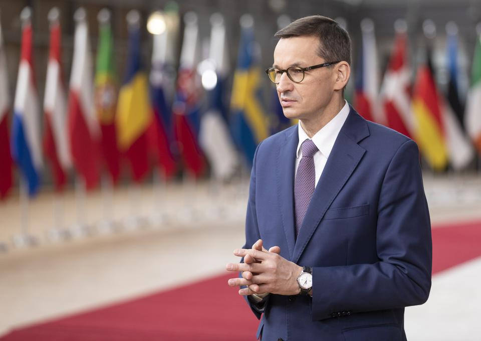 Polish Prime Minister Mateusz Morawiecki announced a 100 Day Battle Plan for tackling Covid-19 in the weeks ahead