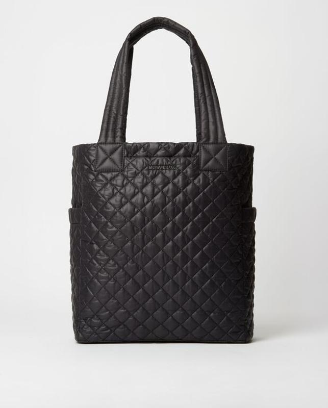 MZ Wallace quilted black bag
