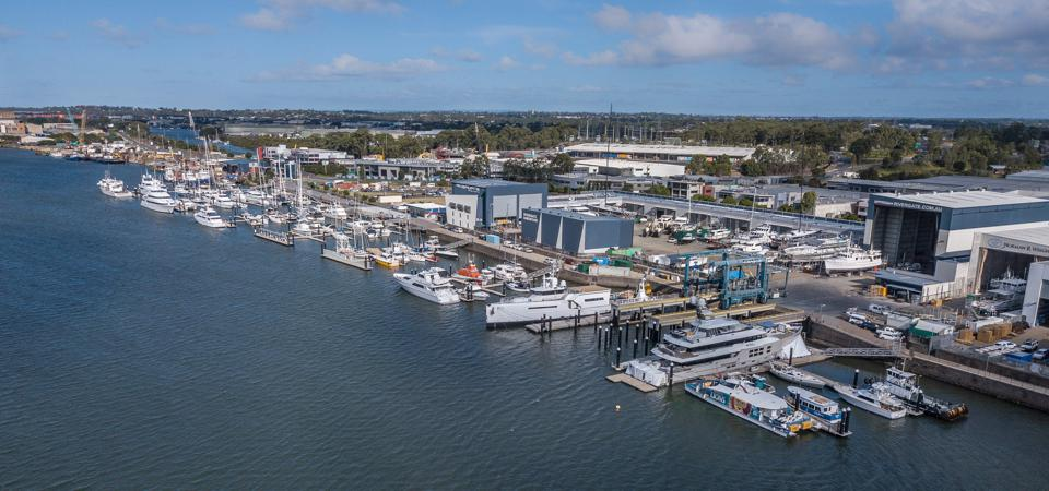 Rivergate Marina & Shipyard is close to the Great Barrier Reef