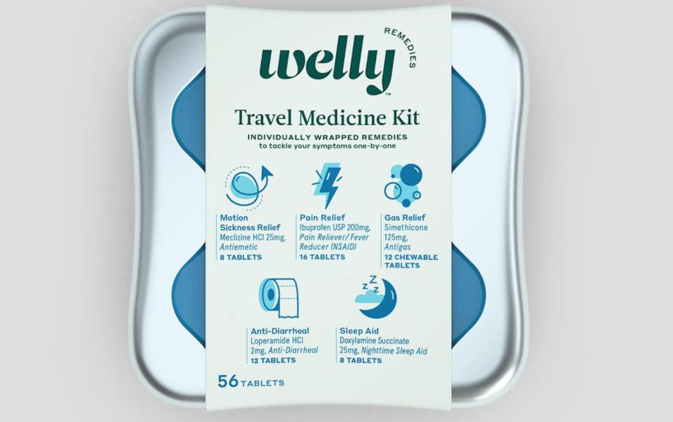 Travel Medicine Kit from Welly