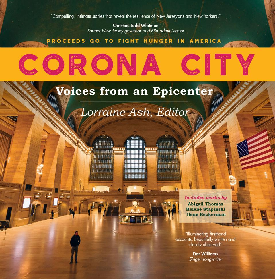 The cover photo of CORONA CITY: Voices from an Epicenter was taken by photographer Matthijs Noome. He captured an empty Grand Central Station at rush hour. The photo depicts the eerie sight of a deserted metropolis while most everyone was at home during the early days of the pandemic.