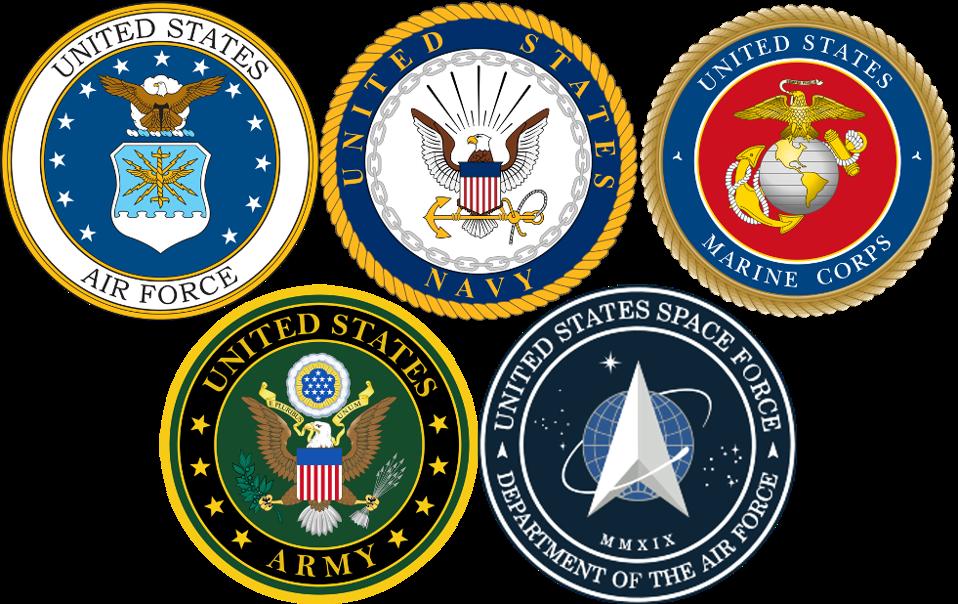 DOD Service Logos