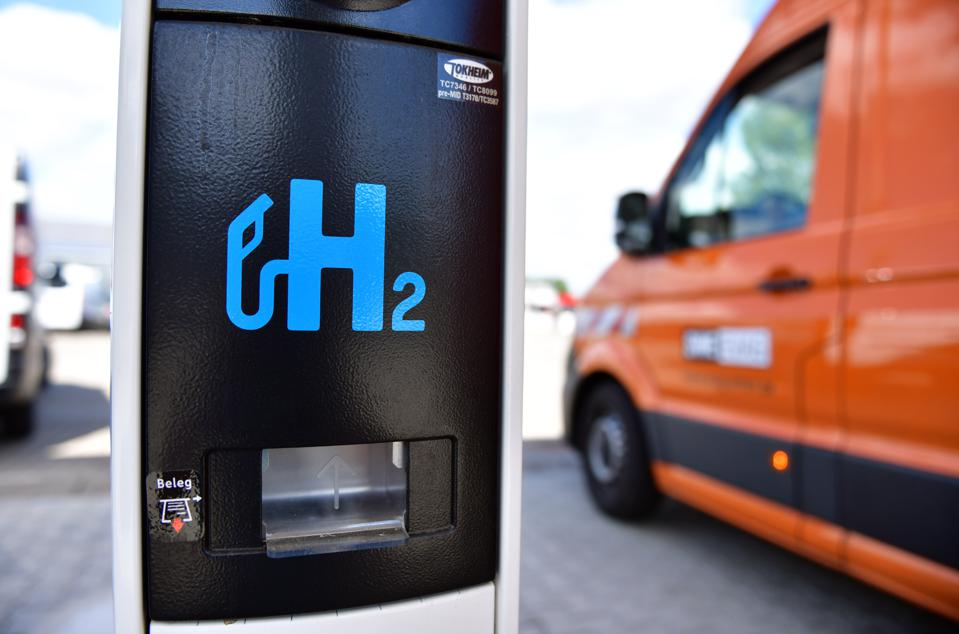 Hydrogen filling station in Thuringia