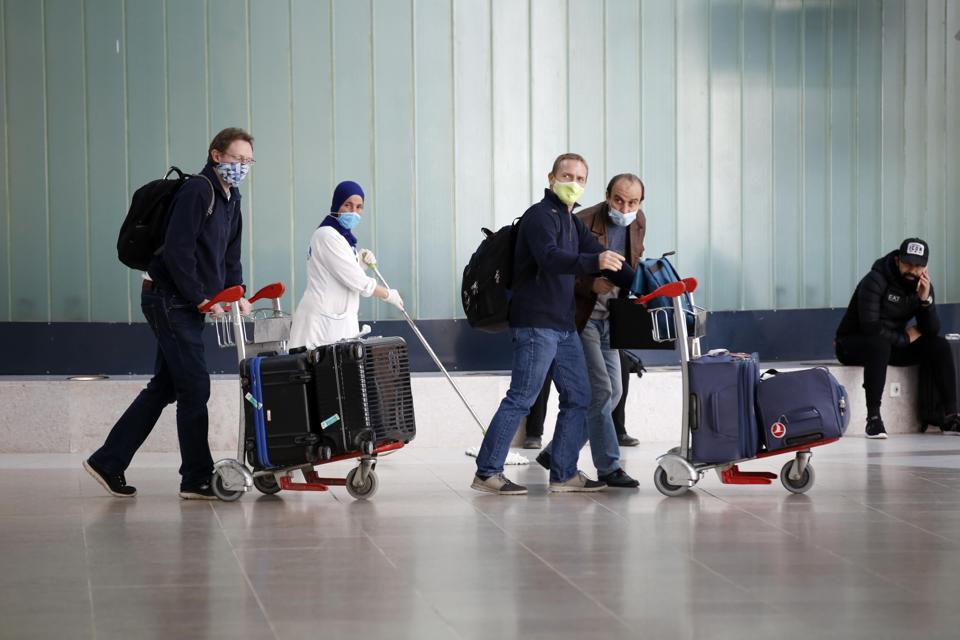 Resumed Domestic Flights In Algeria