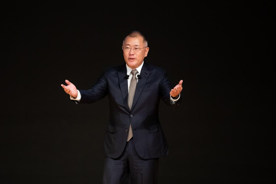 Euisun Chung, chairman of Hyundai Motor Group.