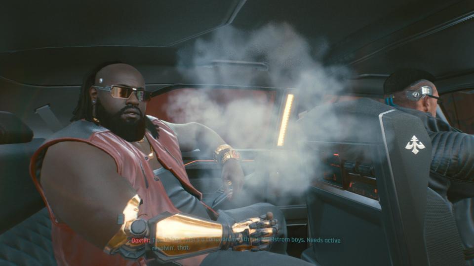 Cyberpunk on console