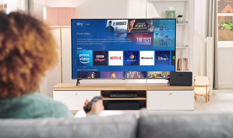 Amazon Prime on Sky TV.