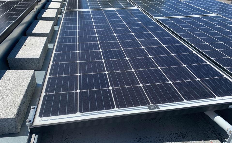 Solar-panel racking system