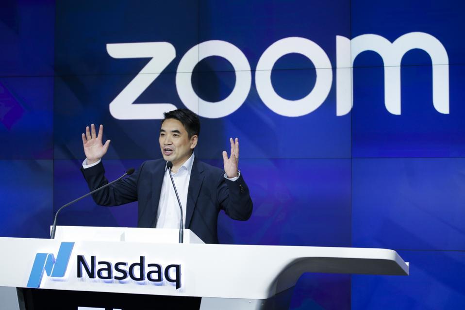 Video Conferencing Software Zoom Goes Public On Nasdaq Exchange