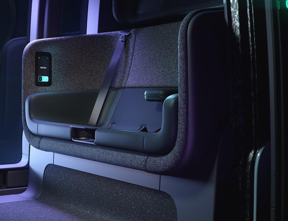 Zoox seat