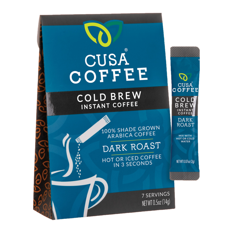 Cusa Cold Brew Instant Coffee