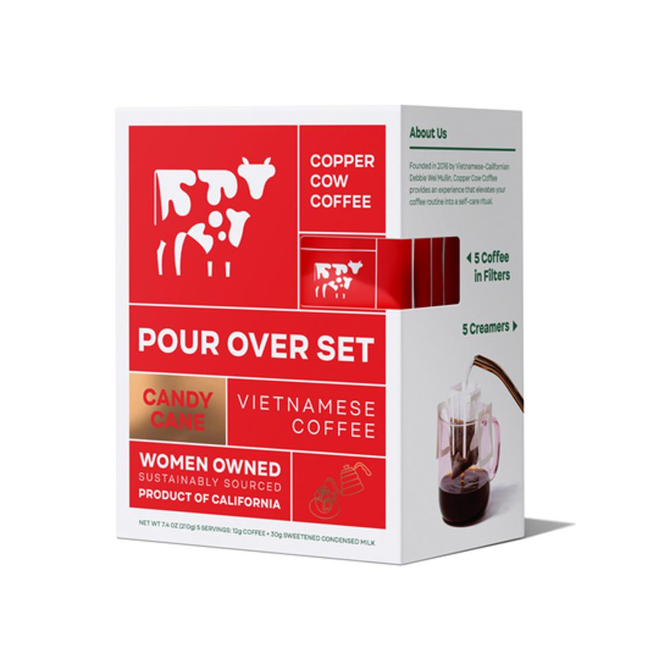 Copper Cow Coffee's pour over set