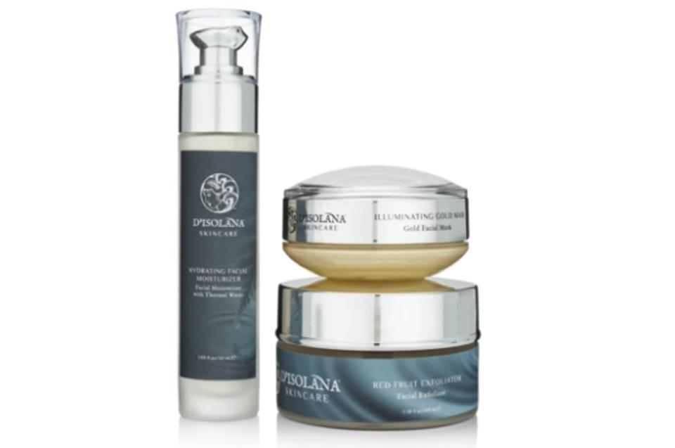 Italy: D'Isolana Glowing Skin Set