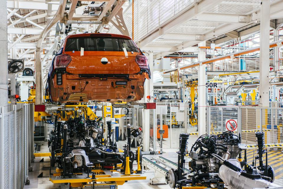 New Polo Automobile Production At The Volkswagen AG Uitenhage Plant