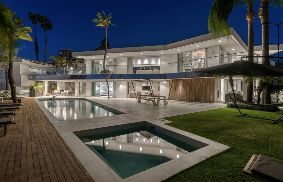 Jerry Seinfeld's former home in Los Angeles.