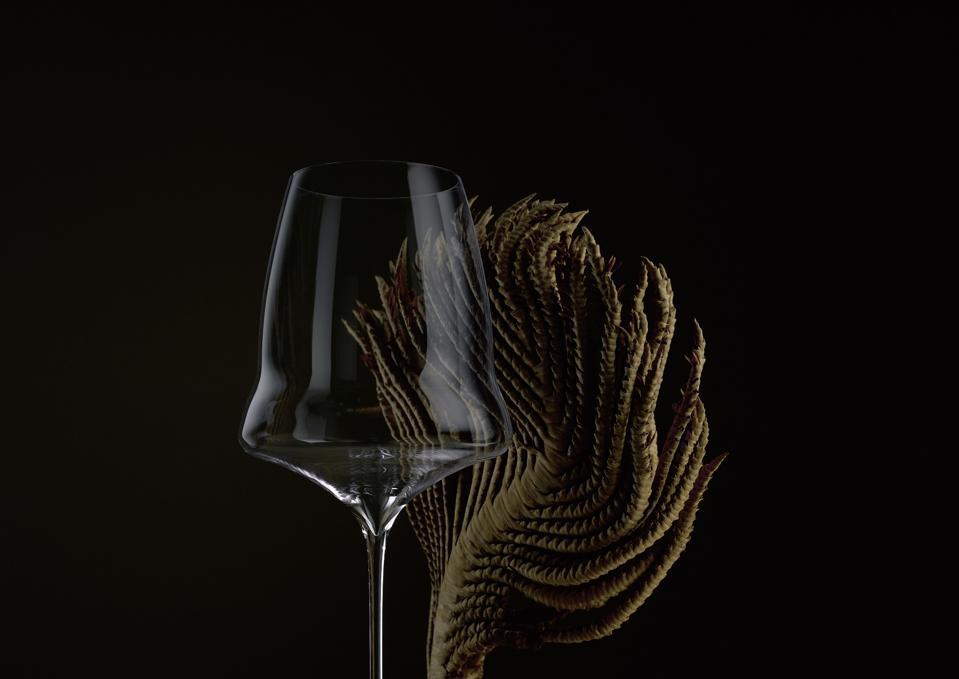 Kurt Zalto's line of whisper-thin Bordeaux glasses.